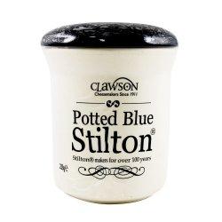 Blue Stilton Crock