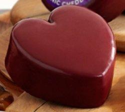 Godminster Vintage Organic Cheddar Heart Shape